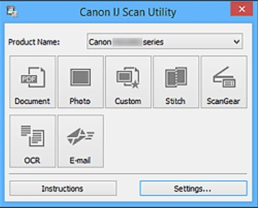 Youtube Canon IJ Scan Utility